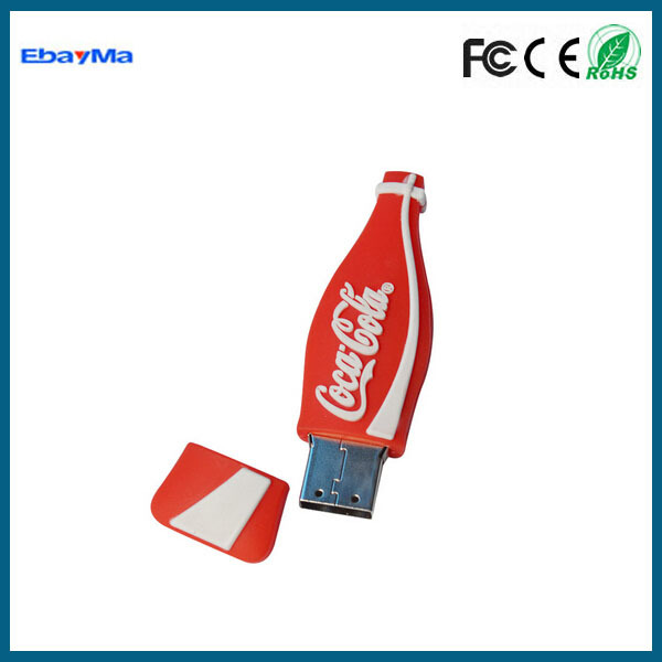 Corporate gift bottle shape usb flash memory unique products from china