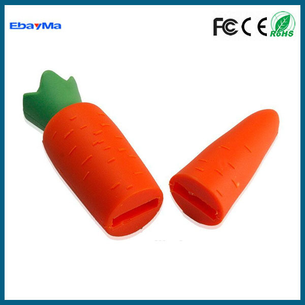 Cute Carrot USB Flash Pen Drive Memory Stick,Food shape usb flash drives
